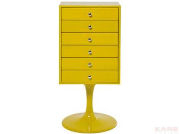 Комоды Комод Trumpet 6SK, желтый за 38 000 руб