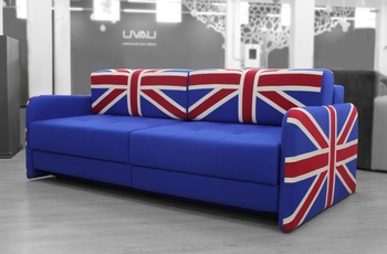 "Диваны Диван ""Нельсон"" британский флаг за 48 000 руб"