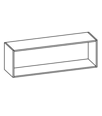 Шкаф настенный со стеклом