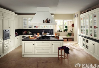 Кухонные гарнитуры Кухни от «SCAVOLINI». Коллекция «Baltimora» за 400 000 руб