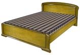 """Мебель для спальни Кровать """"Невда"""" б/к., б/м.(1400) Б-6707-13-01 за 21260.0 руб"""