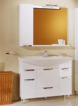 Зеркала Лайн 105 зеркало-шкаф за 9 800 руб