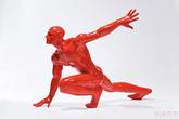 Фигура декоративная Asthetics, красная за 23700.0 руб