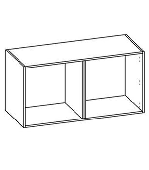 Гостиные Шкаф настенный со стеклом за 13 593 руб