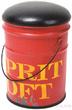 Табурет Esprit Loft, красный за 3700.0 руб