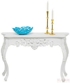 Туалетные столики Стол пристенный Ornament White Glossy Big за 27 600 руб