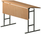Мебель для школ Стол ученический 2х местный, регулируемый за 1655.0 руб