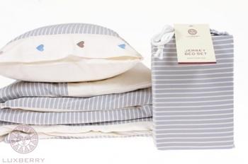 Постельное белье Постельное белье «Джерси» за 4 900 руб