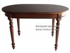 Столы и стулья МАЛЬТА Стол овальный раскаладной 1300х800 +480 мм за 35680.0 руб