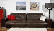 Мягкая мебель Диван Grandezza 1 коричневый KARE + Studio Divani за 547700.0 руб