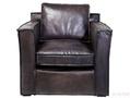 Кресло с подлокотниками Cube Big Buffalo, коричневое