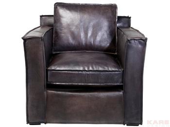 Кресла Кресло с подлокотниками Cube Big Buffalo, коричневое за 119 800 руб