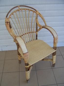 Плетеная мебель Кресло плетеное 1. за 2 800 руб