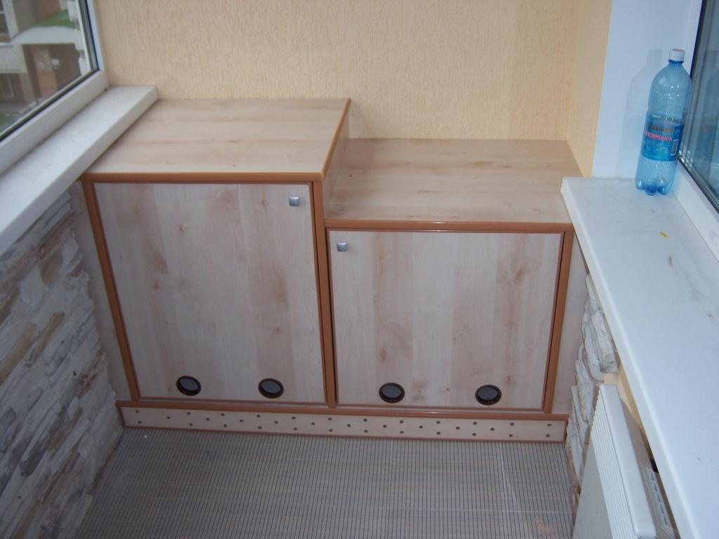 """Тумба для балкона от """"мебель на заказ"""" мебельная компания - ."""