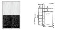 Корпусные шкафы-купе Шкаф-купе за 78780.0 руб
