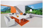 Картины, панно Picture Living Room Skyline 120x80cm за 3900.0 руб