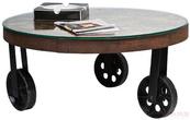 Столы и стулья Стол кофейный Memory Round за 40800.0 руб