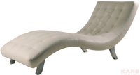 Мягкая мебель Шезлонг Snake, белый за 35200.0 руб
