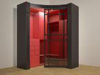 Радиусный шкаф-купе за 12000.0 руб