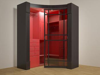 Радиусные шкафы-купе Радиусный шкаф-купе за 10 800 руб
