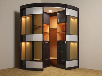 Угловые шкафы-купе Угловой шкаф-купе за 8 100 руб