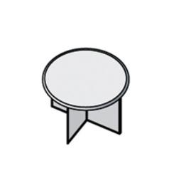 Мебель для персонала Дополнительный модуль стеллажа круглого мобильного за 2 578 руб