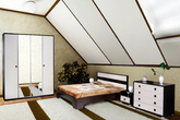 """Мебель для спальни Кровать 1400 """"Инферно"""" за 11250.0 руб"""