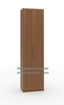 Прихожие Неаполь Шкаф для одежды гл. 420 (орех) за 10 260 руб