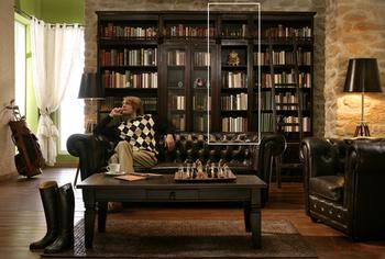 Кабинет/Библиотека Стеллаж библиотечный Cabana узкий за 40 000 руб