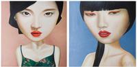 Картины, панно Картина маслом Mei Ling 100x100 в ассортименте за 15600.0 руб