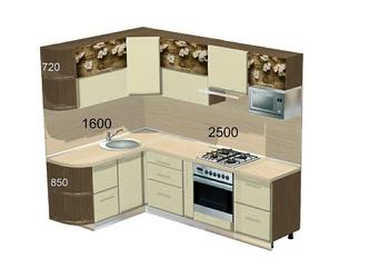 Кухонные гарнитуры Кухонный гарнитур №1 за 75 890 руб