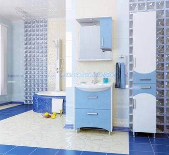 Шкафы ЛАГУНА 65 Шкаф-зеркало навесной за 2 500 руб