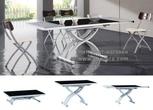 Обеденные столы Стол трансформер 2109 черный за 31290.0 руб