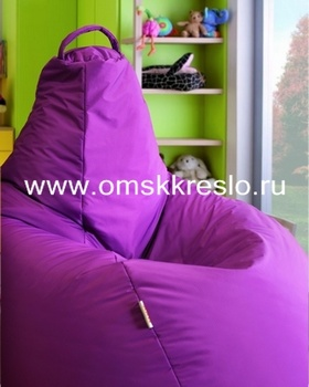 """Бескаркасная мебель BeanBag LUXE """"Фиолетовый"""" за 3 699 руб"""