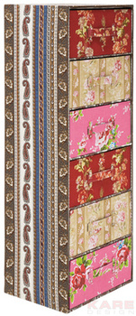 Комоды Комод Patchwork, розовый за 19 700 руб