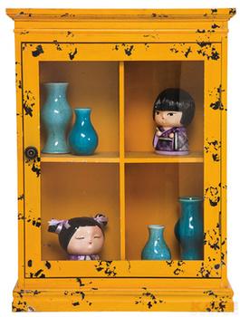 Буфеты и витрины Бар подвесной Little Something, желтый за 7 800 руб