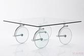 Столы и стулья Стол кофейный Wheels 100x100 см за 36100.0 руб