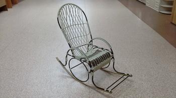 """Кресла-качалки Кресло-качалка """"Стандарт"""" с плетеным сиденьем за 6 000 руб"""