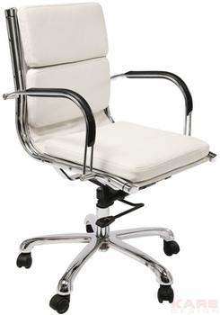 Кресла для руководителей Стул офисный Relax Nappalon White за 27 600 руб