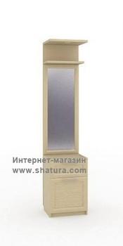 Прихожие Неаполь Секция с зеркалом (дуб) за 4 980 руб