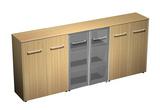 Офисная мебель Шкаф комбинированный средний(закрытый - стекло - закрытый) за 72824.0 руб