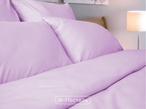 Однотонное постельное белье «Lilu Satin» Евро за 3350.0 руб