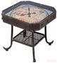 Стол кофейный Antique Clock 45x45 см