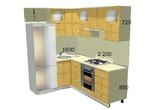 Мебель для кухни Кухонный гарнитур №2 за 60240.0 руб