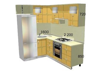 Кухонные гарнитуры Кухонный гарнитур №2 за 60 240 руб