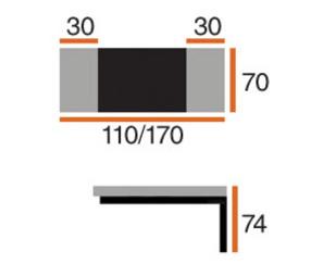 Обеденные столы Стол Париж за 7 549 руб