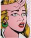 Картина маслом Comic Woman 150x120