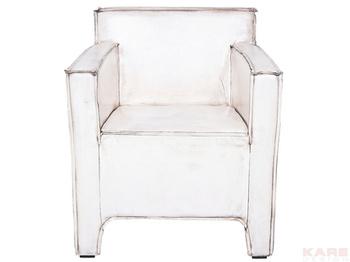 Кресла Кресло с подлокотниками Cube Buffalo, белое за 63 900 руб