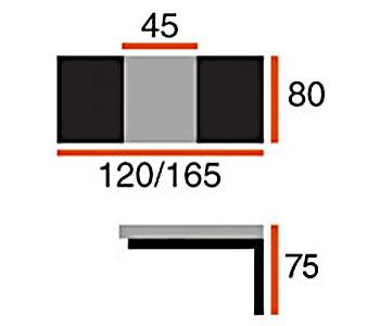 Обеденные столы Стол Сеул за 10 138 руб
