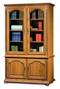 """Гостиные Шкаф с витриной 1220 """"Давиль"""" ММ-126-11 за 34 990 руб"""